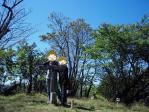 九州脊梁山脈トレイルランin向坂山山頂