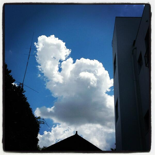 アンパンマン雲