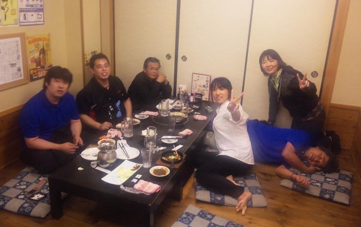 朝倉さんとヨコタメンバー(D4メンバー以外w)