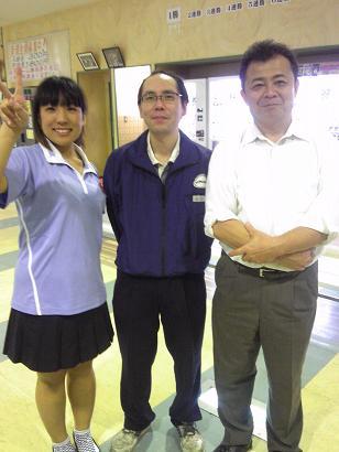 綾・谷口さん・安野さん!