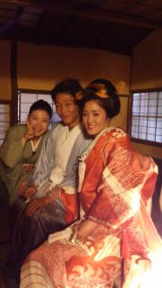 日本髪ヘアセット 自毛日本髪
