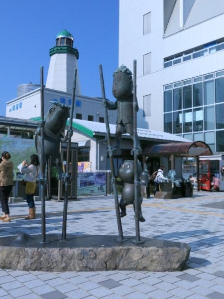 JR境港駅前