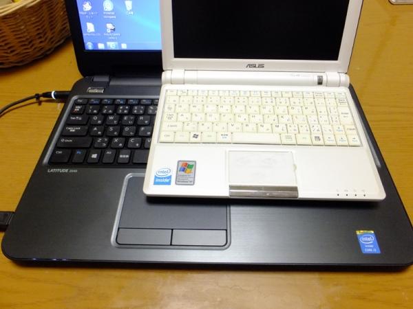 ASUSとキーボード比較