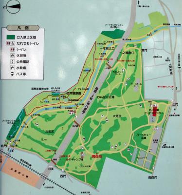 野川公園案内