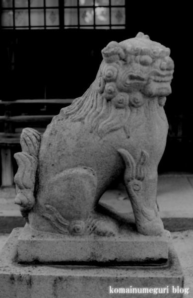 楯原神社(大阪市平野区喜連)3