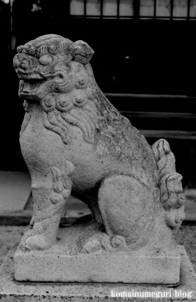 楯原神社(大阪市平野区喜連)1