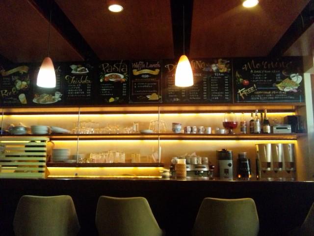 ワッフルが美味しいカフェ   ‐Deck Cafe‐