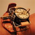 チームパンク腕時計