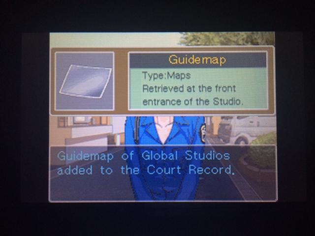 逆転裁判 北米版 グローバル・スタジオ 正門前19