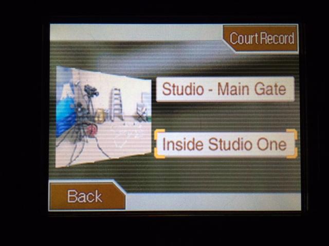 逆転裁判 北米版 第一スタジオへ6