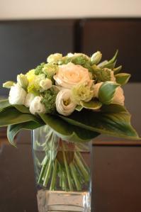 北岡さん花束