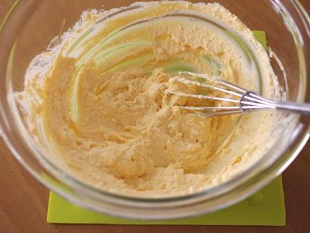 にんじんの健康チーズケーキ01