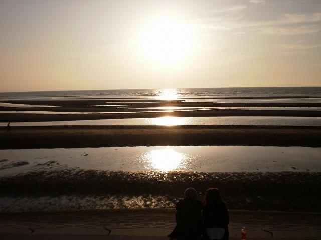 日本夕陽100選の夕陽
