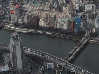 東武鉄道 浅草駅と伊勢崎線 隅田川橋梁