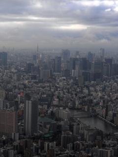 東京タワー・丸の内 HDR
