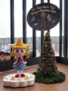 東京スカイツリーのクリスマスツリー