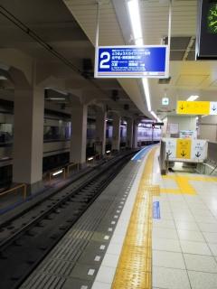 東武鉄道 浅草駅 ホーム