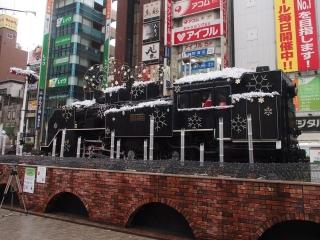 新橋駅西口SL広場 C11 292 蒸気機関車