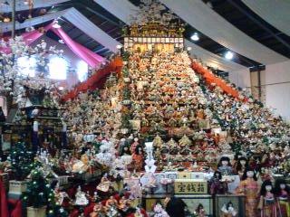 3万体のひな人形