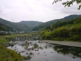 沈下橋のある風景