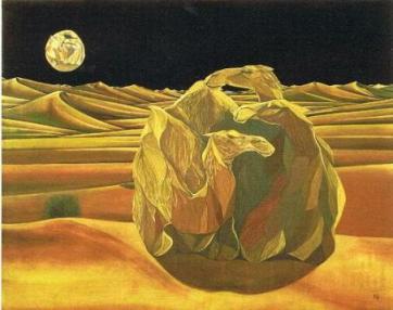 「月と駱駝」