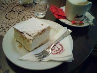 ハンガリーで食べたスィーツ