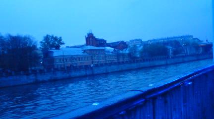モスクワ川クルーズ