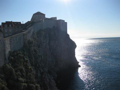 アドリア海で生まれて初めて初日の出を拝む