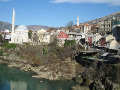 picchuko、ボスニア・ヘルツェゴビナで腰抜かす