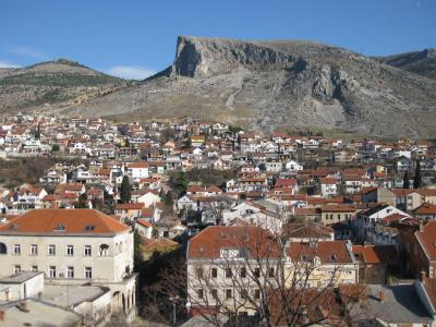 モスタルの風景