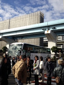 s-①日之出橋に到着