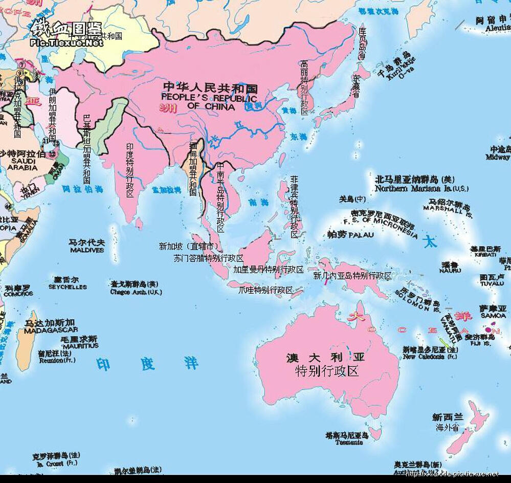 Red Fox 【日本は中国の自治区になる? 2】「大中華マップ」は ...