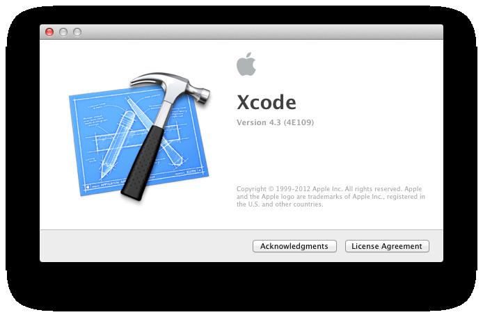 Xcode 4.3