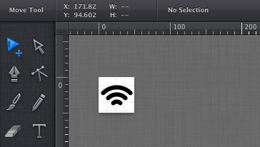 iDraw for Macでアイコン作成