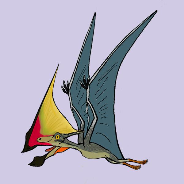 古生物画廊・恐竜編】トゥパンダクティルス - PLANET Σ