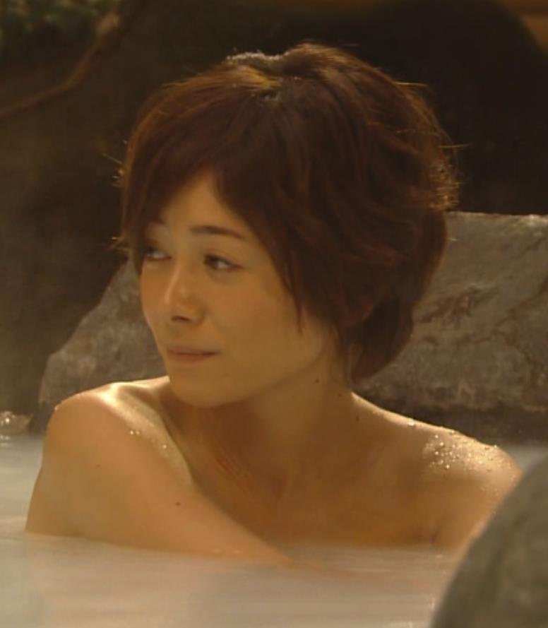 真木よう子 入浴シーン お宝キャプ画像セクシーテレビジョン