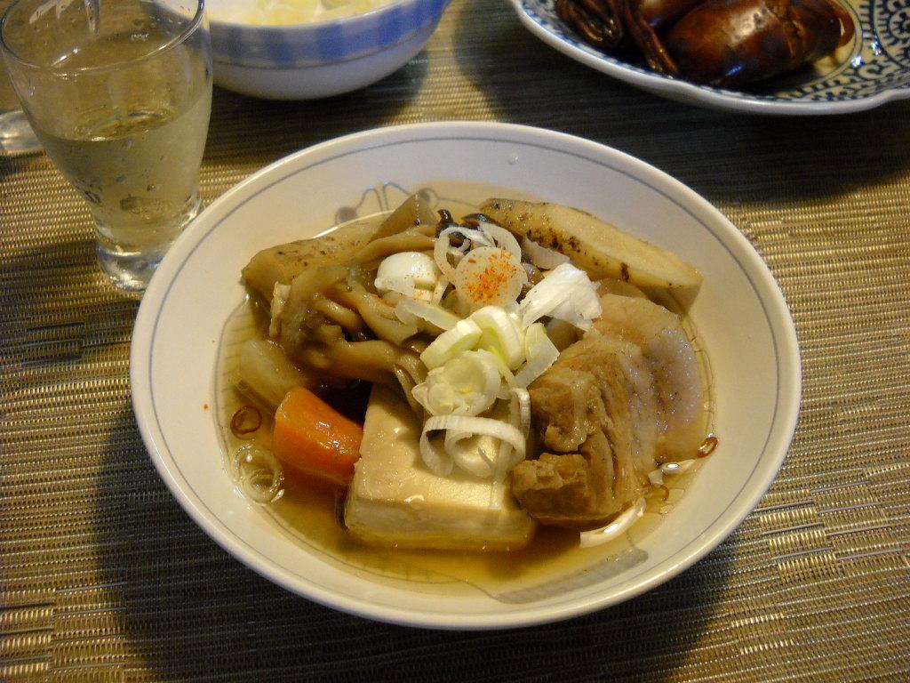 久々の肉豆腐