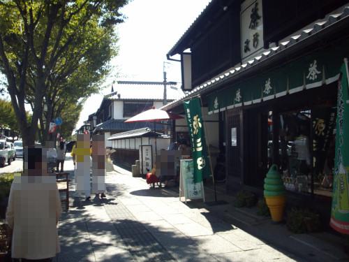 彦根 夢京橋キャッスルロードのもんぜんやのそばと牛串