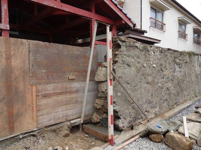 M邸石垣改修~完了